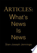 Articles  What s News Is News