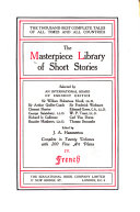 The Masterpiece Library of Short Stories