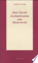 Dieci tavole architettoniche sulla massoneria