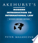 Akehurst s Modern Introduction to International Law