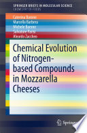 Chemical Evolution of Nitrogen based Compounds in Mozzarella Cheeses