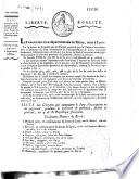 Liste des citoyens qui composent le jury d'accusation et de jugement pendant le trimestre de germinal, floréal et prairial an IV