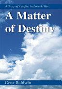download ebook a matter of destiny pdf epub