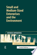 Small and Medium Sized Enterprises and the Environment