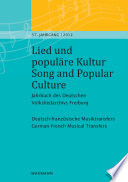 Lied und popul  re Kultur   Song and Popular Culture 57  2012