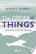 The Order Of Things : a substantial and original contribution to the fields...