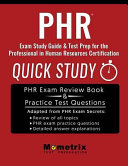 Phr Exam Study Guide   Test Prep