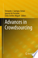Advances in Crowdsourcing