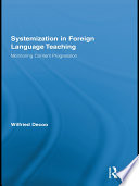 Systemization In Foreign Language Teaching