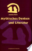 Mythisches Denken und Literatur