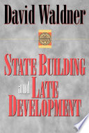 State Building And Late Development
