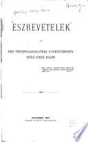 Észrevételek az írói törvényjavaslatnak a fordításokról szóló cikke ellen ...