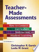 Teacher Made Assessments