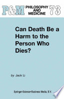 Can Death Be a Harm to the Person Who Dies