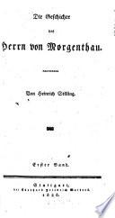 Die Geschichte des Herrn von Morgenthau