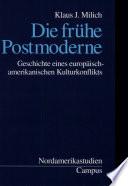 Die frühe Postmoderne