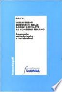 Interferenti endocrini nelle acque destinate al consumo umano  Approccio metodologico e valutazioni