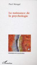 illustration La naissance de la psychologie