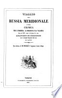 Viaggio Nella Russia metidionale e nella Crimea