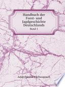 Handbuch der Forst- und Jagdgeschichte Deutschlands