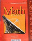 Math Advantage  Grade 8