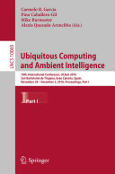 download ebook ubiquitous computing and ambient intelligence pdf epub