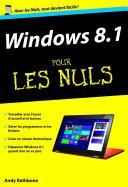 Windows 8 1 Poche Pour les Nuls  nouvelle   dition