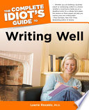 The Complete Idiot S Guide To Writing Well
