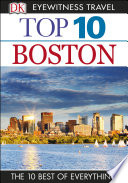 DK Eyewitness Top 10 Travel Guide Boston