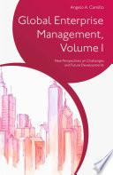 Global Enterprise Management  Volume I