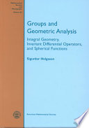 Groups and Geometric Analysis