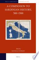 A Companion to Sardinian History  500   1500