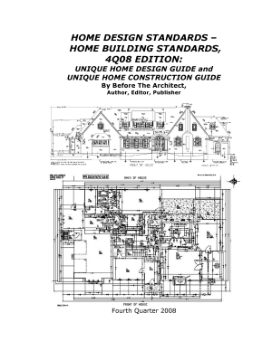 home design standards-home building standards,