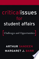 Critical Issues for Student Affairs
