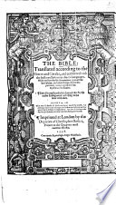 The Bible     With     Annotations     And Also a     Concordance  by R  F  Herrey   Etc  B L