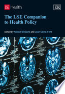 The Lse Companion To Health Policy