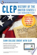 CLEP History of the United States I w Online Practice Exams  6th Ed