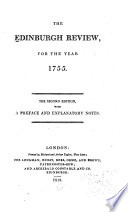 The Edinburgh Review, for the Year 1755