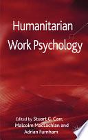 Humanitarian Work Psychology