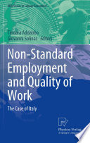 Non Standard Employment and Quality of Work