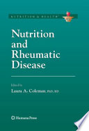 Nutrition And Rheumatic Disease book
