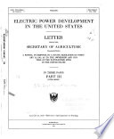 Electric Power Development in the United States