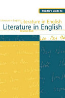 download ebook reader\'s guide to literature in english pdf epub