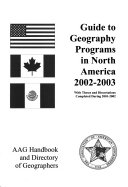 AAG Handbook and Directory of Geographers
