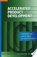 Accelerated Product Development