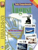 Daily Comprehension August book