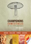 illustration du livre Champignons comestibles de la forêt boréale