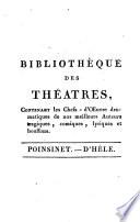 Chefs-d'oeuvre de Poinsinet et de d'Hèle