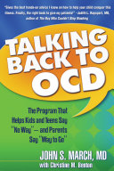 Talking Back to OCD More Than Someone Who Has It That S