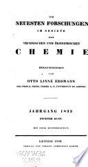 Journal f  r technische und   konomische Chemie
